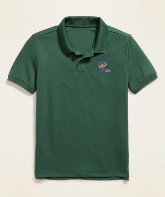 Green Polo Uniform Shirt