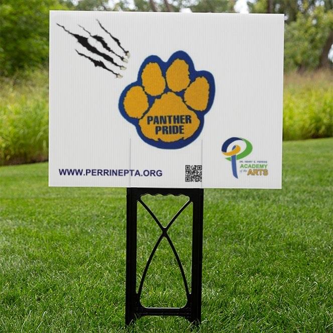 Panther Pride Yard Sign