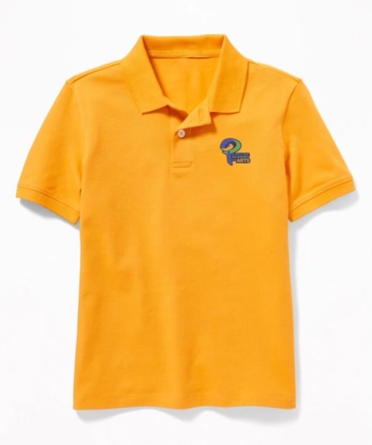 Gold Uniform Polo Shirt
