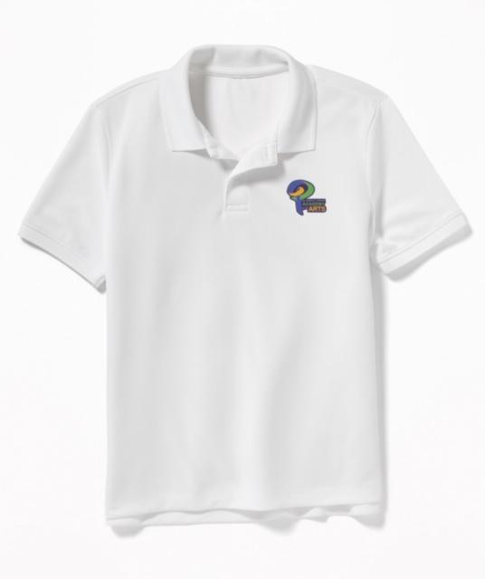 White Uniform Polo Shirt